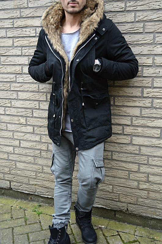 HERREN Winter PARKA KAPUZE RUSSIA YOUNG Mode UK STYLE ...